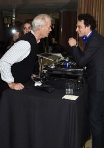 Actor Bill Murray, DJ Spider