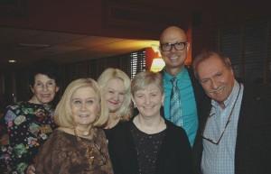 Arlene Epstein, Pat Addiss, Suzanna Bowling, Lauren Yager, Richie Ridge and David Kaufman, Barry Gordin