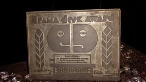 The Drama Desk award to Sam Norkin