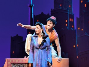 Adam Jacobs, Aladdin Courtney Reed