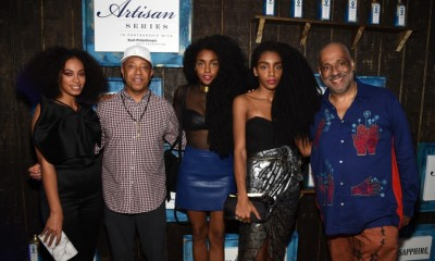 Danny Simmons, Solange Knowles, Russell Simmons, Rosario Dawson