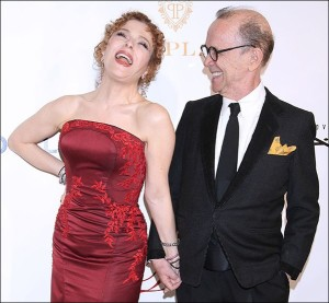 Bernadette Peters and Joel Grey