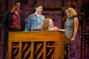 Abby Muller , Becky Gulsvig,, Ben Fankhauser, Liam Tobin,Beautiful – The Musical