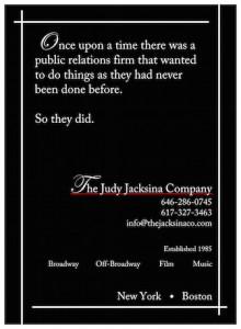 Judy Jacksina, publicist