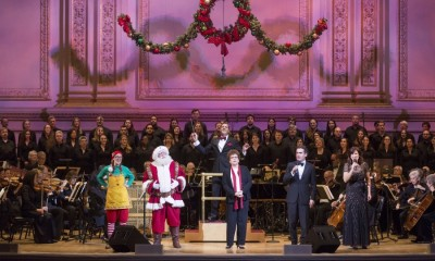 NEW YORK POPS , STEVEN REINEKE , JUDITH CLURMAN , ESSENTIAL VOICES USA, BRIAN DARCY JAMES , STEPHANIE J BLOCK , SANTA CLAUS