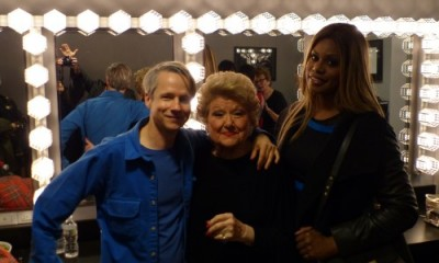 John Cameron Mitchell, Marilyn Maye and Leverne Cox