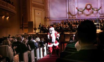 Santa Claus, Carnegie Hall