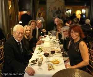 Steve Tyrell at The Carlyle Stephen Sorokoff, Eda Sorokoff, Lady Jane Rothchild, Bill Boggs, Steve, Joy Behar, Jamie deRoy, Kat Murphy