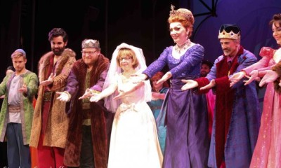 "Once Upon A Mattress, Jackie Hoffman, John ""Lypsinka"" Epperson"