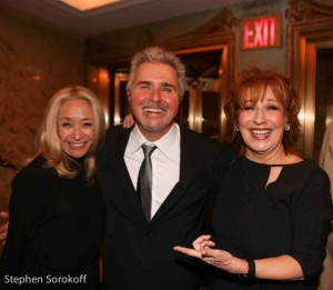 Eda Sorokoff, Steve Tyrell, Joy Behar