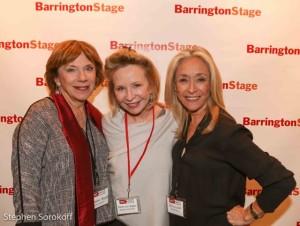 Julianne Boyd, Artistic direct BSC, Debra Jo Rupp, Eda Sorokoff, Benefit Chair