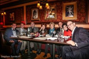 Terrence Flannery, Michael Feinstein, Mark Rosen, Arlene Dahl, Ginny Mancini, Allan Lazare, Arlene Lazare, Marc Cherry
