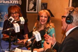 Joy Behar, Julie Budd, Steve Tyrell