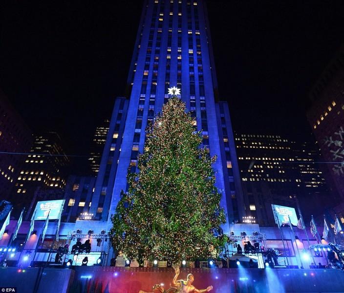 New York City Christmas Tree Lighting 2017