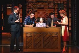 Beautiful: The Carole King Musical, Jarrod Spector,Jeb Brown, Jake Epstein,  Jessie Mueller