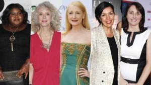 Gabourey Sidibe, Blythe Danner, Patricia Clarkson, Sarah Barnett,Sunda Croonquist