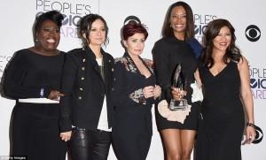 Cheryl Underwood, Sara Gilbert, Sharon Osbourne, Aisha Tyler and Julie Chen
