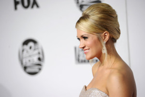 Carrie Underwood ,French Twist