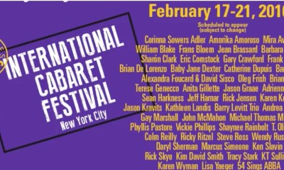 International Cabaret Festival