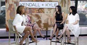 Kendall + Kylie, Hoda, Kathy Lee