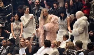 Kourtney Kardashian, Kim  Kardashian, Caitlyn Jenner and Kendal Jenner