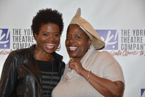 Rhonda LaChanze Sapp and Lillias White Photo by Genevieve Rafter Keddy