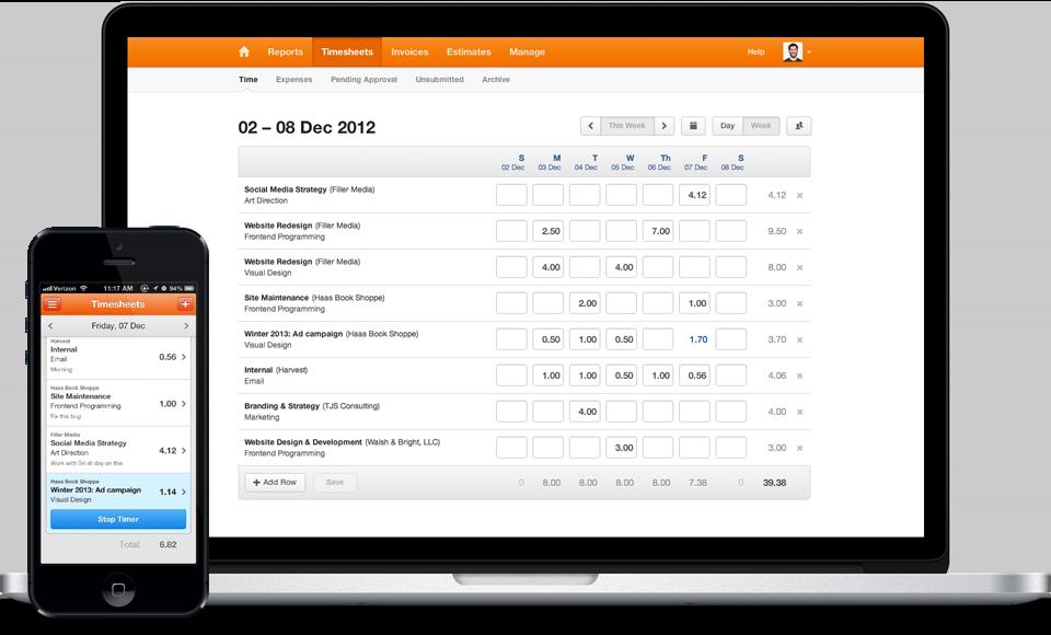 employee timesheet online