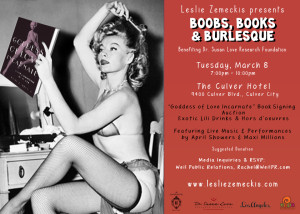 Boobs and Books and Burlesque