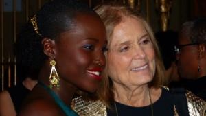 Lupita Nyong'o, Gloria Steinem