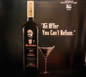 Don Corleone Gold Vodka