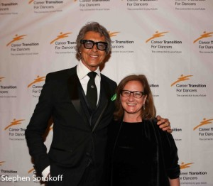 Tommy  Tune & Barbara Davis, COO The Actors Fund