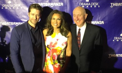 Mathew Morrison, Vanessa Williams and Charles Wright