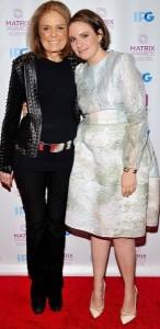 Gloria Steinem, Lena Dunham