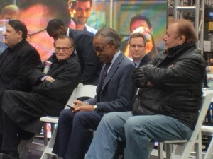 Brandon Wellington, Larry King, The Reverend Al Sharpton, Paul Sorvino
