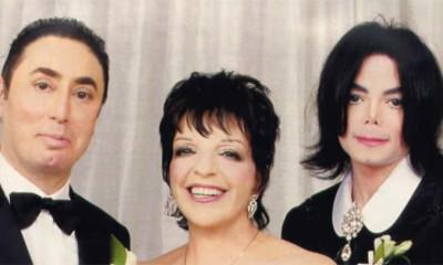 David Gest, Liza Minnelli, Michael Jackson