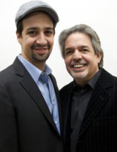 Lin-Manuel Miranda and his father, Luis A. Miranda, Jr.