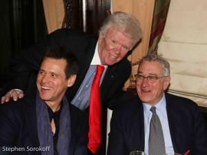 Jim Carrey, Dick Robinson, Robert DeNiro