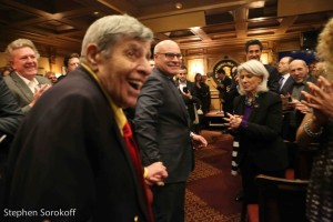 Jerry Lewis & Michael Gyure, Executive Director Friars Club