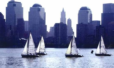 boating in New York