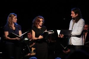 Kristin Percentile, Andrea McArdle, Constantine Maroulis.