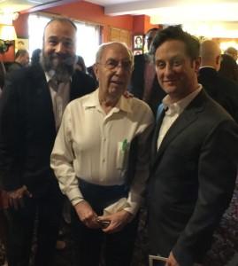 Danny Burstein, Aubry Rueben, Christopher Fitzgerald
