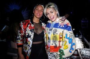 Miley Cyrus, Alicia Keys