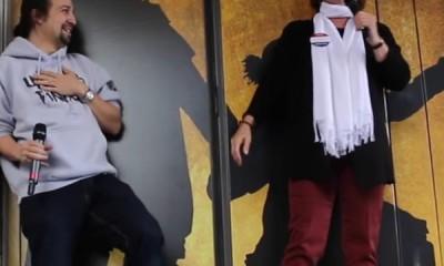 Patti LuPone, Hamilton, Lin Manuel Miranda