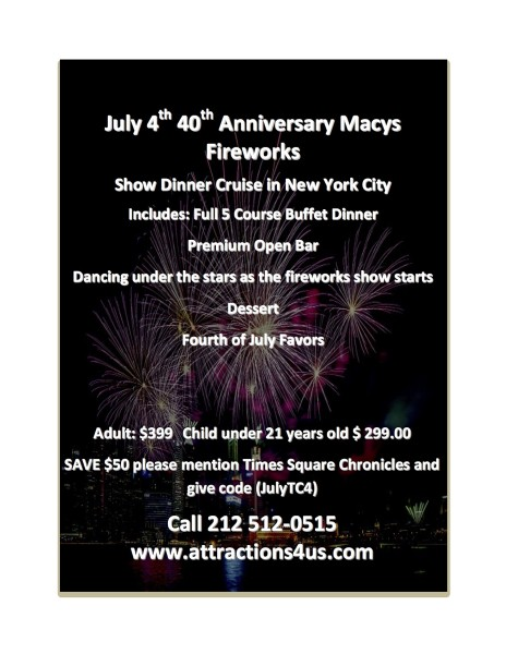 July 4th 40th Anniversary Macys Fireworks