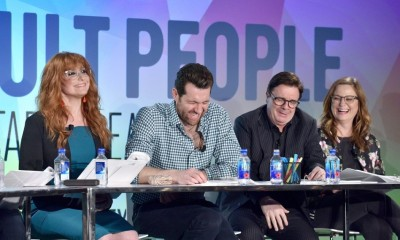 Julie Klausner, Billy Eichner, Nathan Lane, Amy Poehler
