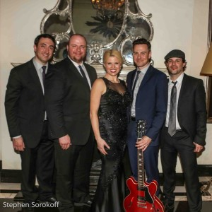 Dennis Keefe, Ryan Hoagland, Megan Hilty, Brian Gallagher, Matt Cusson