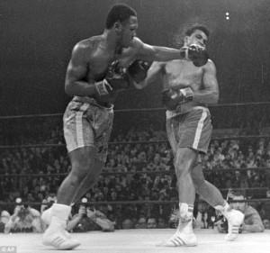 Muhammad Ali, Joe Frazier,Madison Square Gardens