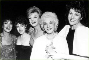 Lynn Redgrave, Angela Lansbury ,Chita Rivera, Bernadette Peters, Mary Martin