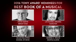Hamilton, Lin-Manuel Miranda, Tony Awards