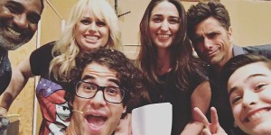 Darren Criss, Norm Lewis,Rebel Willson, Sara Barellies,